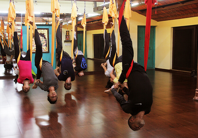 Benefits of Aerial Yoga Inversion Therapy