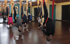 inversion therapy aerial yoga
