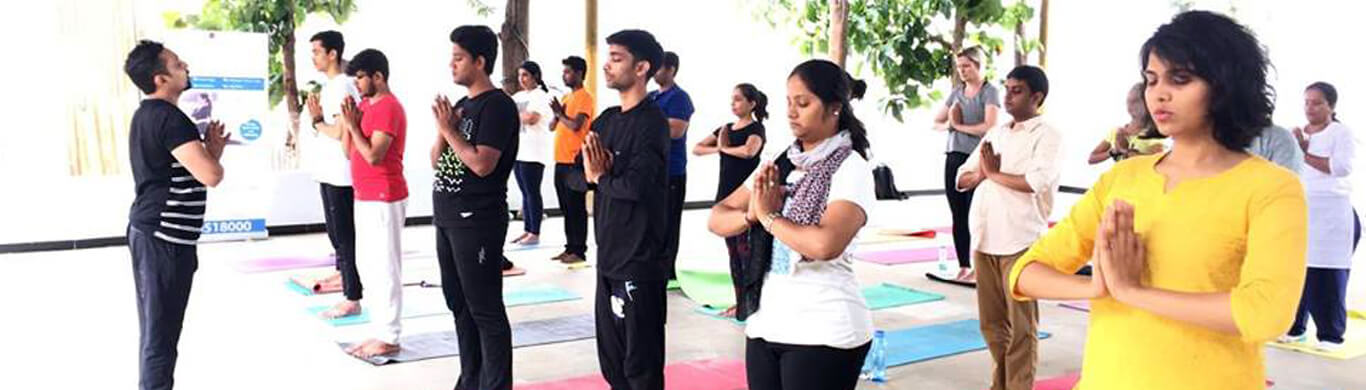 Yoga for Corporates in bangalore at shri krishna wellness yoga and cultural centre